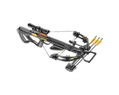 Арбалет блочный Ek Archery/Poe Lang Guillotine-M 370 Plus c комплектацией, Ek Archery/Poe Lang CR-063BP-95, черный