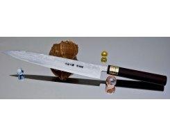Кухонный нож Moritaka AS Damaskus Yanagiba 240 мм.