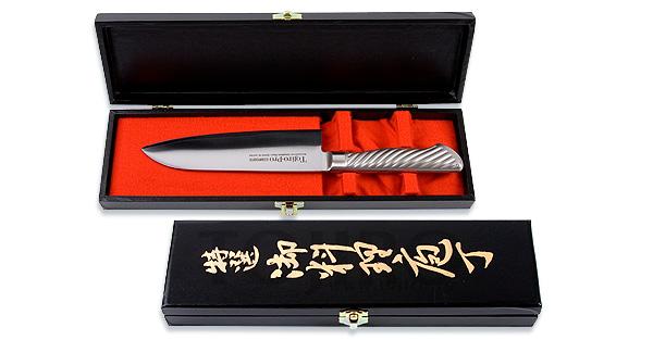 Кухонный нож Сантоку в подарочной упаковке Tojiro FG-52, 17 см
