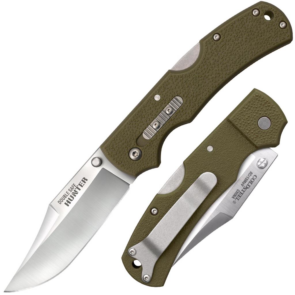 Складной нож Cold Steel 23JC Double Safe Hunter (OD Green)
