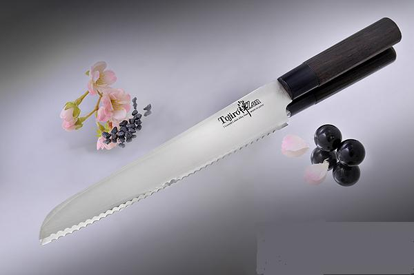 Нож для хлеба Tojiro Zen FD-559, 24 см