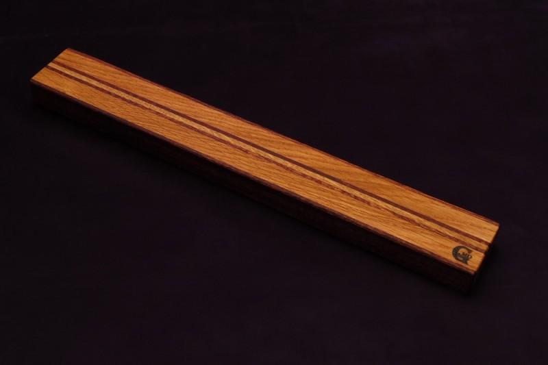 Магнитный держатель для ножей MDG 450 мм, дуб и орех