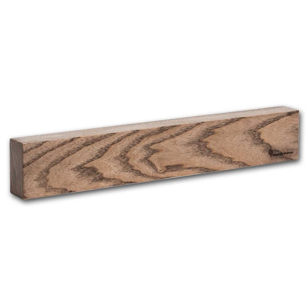 Магнитный держатель для ножей Woodinhome KS001SAB 39х6,5х3,5 см, ясень, темный