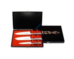 Набор ножей: Сантоку, поварской и универсальный Tojiro FD-133