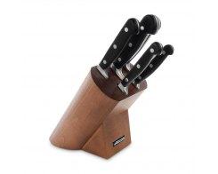 Набор из 5 кухонных ножей в деревянной подставке Arcos Opera 227000