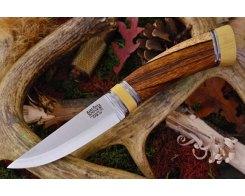 Нож туристический Bark River Scandi Desert Ironwood Ivory Spacer