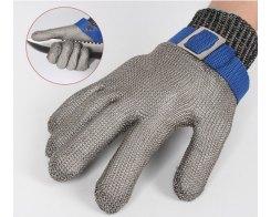 Перчатка Batex NR.650.24 L, металлическая, защитная от порезов