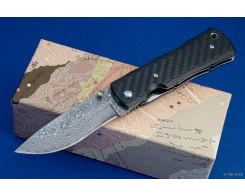 Туристический складной нож G.Sakai 10870 BOSEN FURINKAZAN CARBON FOLDER