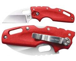 Складной нож Cold Steel 20LTR Tuff Lite Plain Edge Red