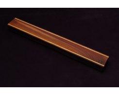 Магнитный держатель для ножей MDG 370 мм, ясень и орех, темный