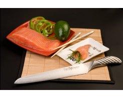 Гастрономический нож для тонкой нарезки Tojiro FD-961