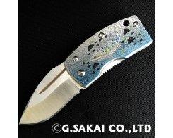 Складной нож с зажимом для денег G.Sakai AMAGO Money Clip