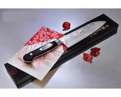 Поварской шеф нож Сантоку Ryusen Bontenunryu HHD-07, 17 см