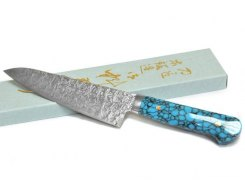 Кухонный поварской нож (Gyuto) Hiroo Itou HI-1113, 160 мм