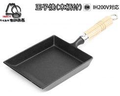 Чугунная сковорода IWACHU 24017, 18х15 см, индукция
