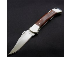 Туристический складной нож G.Sakai 60612 KITANO FUJI No.1 DESERT IRON WOOD