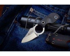 Шейный нож Kizlyar Supreme 00028 Amigo X AUS-8 Satin, 13,3