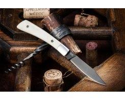 Складной нож Kizlyar Supreme 00036 Gent AUS-8 Black Titanium, 92 мм.