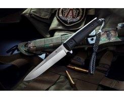 Тактический нож Kizlyar Supreme 00061 Alpha, AUS-8 Satin
