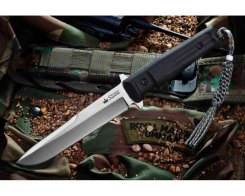 Нож Kizlyar Supreme 000632 Trident D2 Satin, 28,3 см.