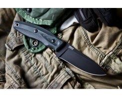 Тактический нож Kizlyar Supreme 000775 Urban D2 Black Titanium
