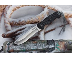 Тактический нож Kizlyar Supreme 001561 Vendetta, D2 Satin