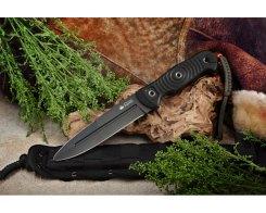 Туристический нож Kizlyar Supreme 001641 Legion D2 Black Titanium