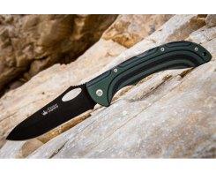 Складной нож Kizlyar Supreme 00993 Dream 440C Black Titanium, 105 мм.