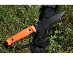 Тактический ножKizlyar Supreme 0192 Delta, D2 Black Titanium OH