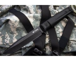Тактический нож Kizlyar Supreme 0731 Delta, AUS8 Black Stonewash