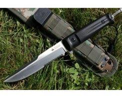 Тактический нож Kizlyar Supreme 10061 Alpha, S AUS-8 Satin