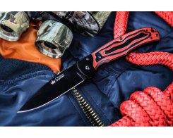 Складной нож Kizlyar Supreme 11718 Prime D2 Black Titanium G10, 20,5 см.