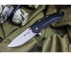 Складной нож Kizlyar Supreme 1598 Zedd AUS-8 Satin, 85 мм.