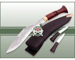 "Кукри нож Nepal Kukri House 25"" Engraved"