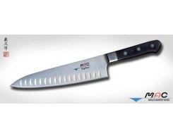 Кухонный поварской нож MAC Professional MTH-80 Chef с проточкой 200 мм.