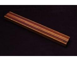 Магнитный держатель для ножей MDG 600 мм, орех и дуб