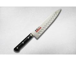 Нож кухонный Шеф с выемками на лезвии Masahiro 149xx 14983 27 cм