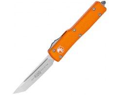 Автоматический складной нож Microtech UTX-70 Satin 149-10OR