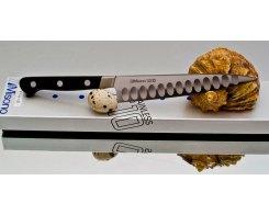 Универсальный нож Misono UX10 Steel с проточкой Petty 120 мм.