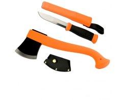 Набор топор и нож Mora Outdoor Combi 2001 Axe & Knife оранжевый