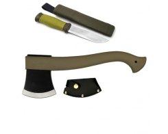 Набор топор и нож Mora Outdoor Combi 2001 Axe & Knife зелёный
