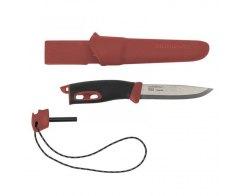 Нож с огнивом Morakniv Companion Spark Red, нержавеющая сталь, 13571
