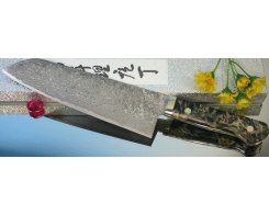 Кухонный нож Сантоку Mr. Itou (Hiroo Itou) mi-sa82 R2 Santoku 195 мм