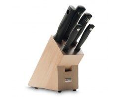 Набор ножей 5 предметов в подставке Wuesthof 9829 Silverpoint