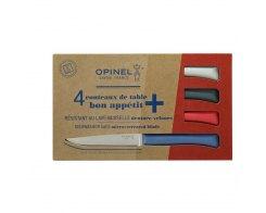 Набор столовых ножей Opinel, нержавеющая сталь, разноцветные, 110 мм.
