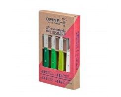 Набор ножей Opinel Les Essentiels Primavera, цветные, нержавеющая сталь, (4 шт./уп.)
