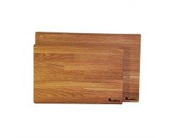 Набор разделочных досок WoodinHome CB001ONKIT2, массив дуба