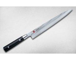 Нож филейный для рыбы и сасими Kasumi Damascus 85024, 24 см.