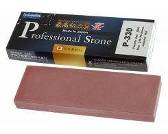 Водный точильный камень Naniwa Professional Stone P-330, 3000 grit, 210 мм х 70 мм х 20 мм