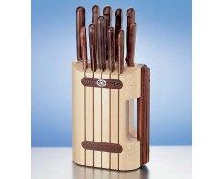 Набор из 11-и кухонных ножей на подставке Victorinox Сultery 5.1150.11
